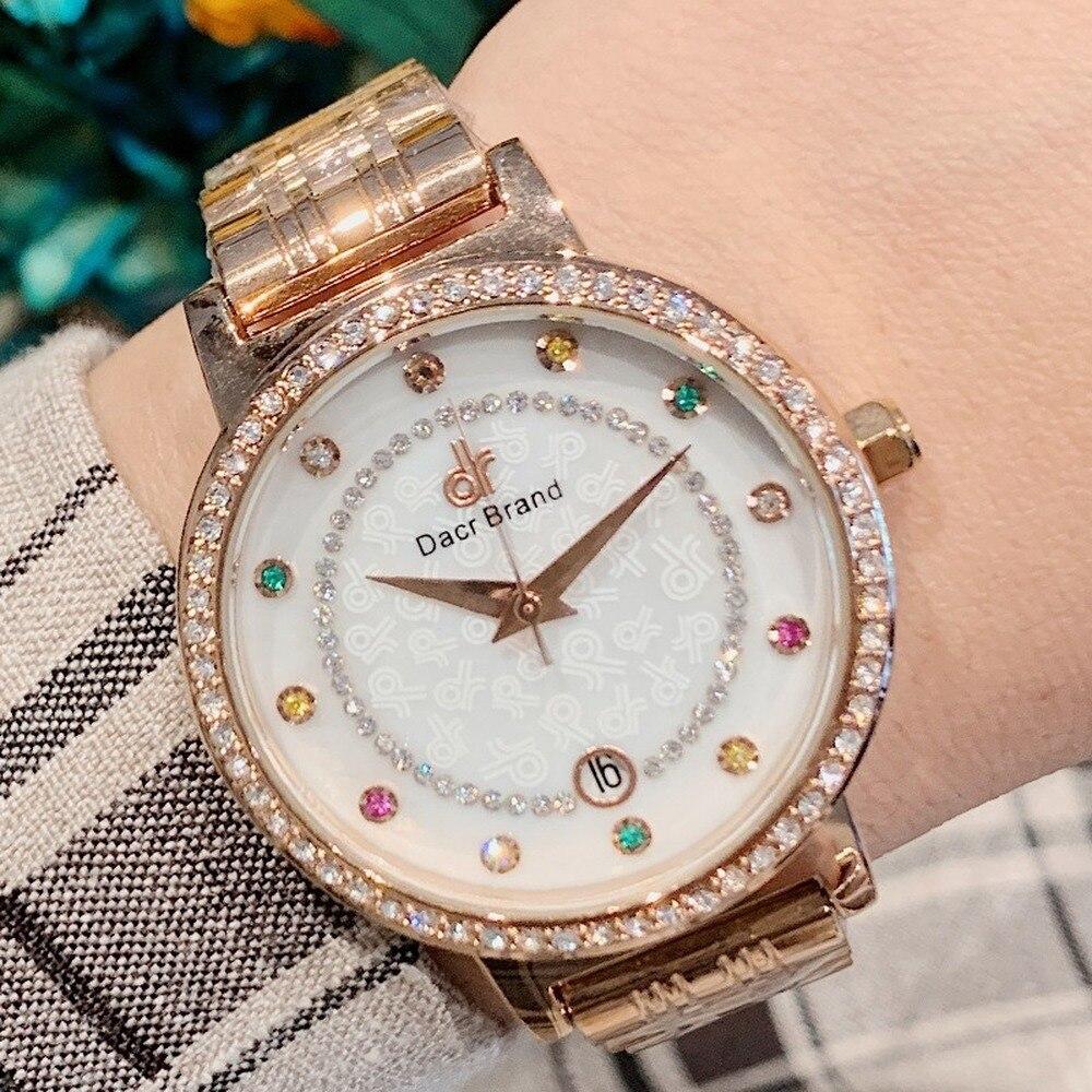 Women Watch Fashion 2019 Stainless Steel Flower Ladies Wrist Watch Luxury Bracelet Watch For relogio feminino Women's Watches|Women's Watches|   - title=
