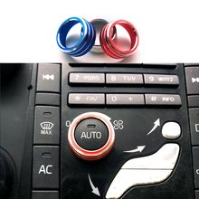 Botão giratório de ar condicionado do carro para volvo s60 v60 xc60 s60 v40 xc90 ar condicionado volume botão cobrir