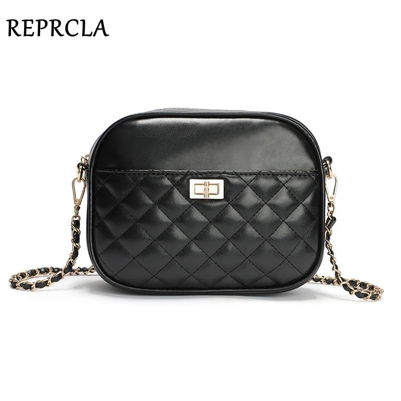 REPRCLA Fashion Brand Women Bag Designer Chain Crossbody Shoulder Bags Luxury Ladies Handbags High Quality Leather