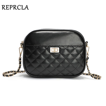 REPRCLA Fashion Brand Women Bag Designer Chain Crossbody Shoulder Bags Luxury Ladies Handbags High Quality Leather