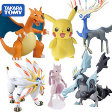 Pokemon Pikachu Xerneas Terrakion Cobalion Virizion Solgaleo Lunala Mewtwo Dream and Fire Dragon Action Toy Figures Assemble(China)