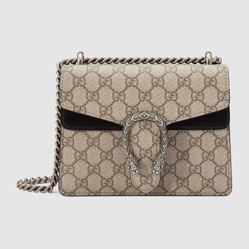 Gucci ‎Women Bag Dionysus GG Supreme Mini Bag Chain Shoulder Bag Fashion Ladies Crossbody Bags Female ‎421970 KHNRN 9769