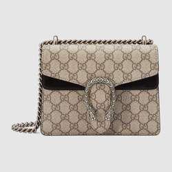 Gucci Women Tasche Dionysos GG Supreme Mini Tasche Kette Schulter Tasche Mode Damen Umhängetaschen Weiblich 421970 KHNRN 9769