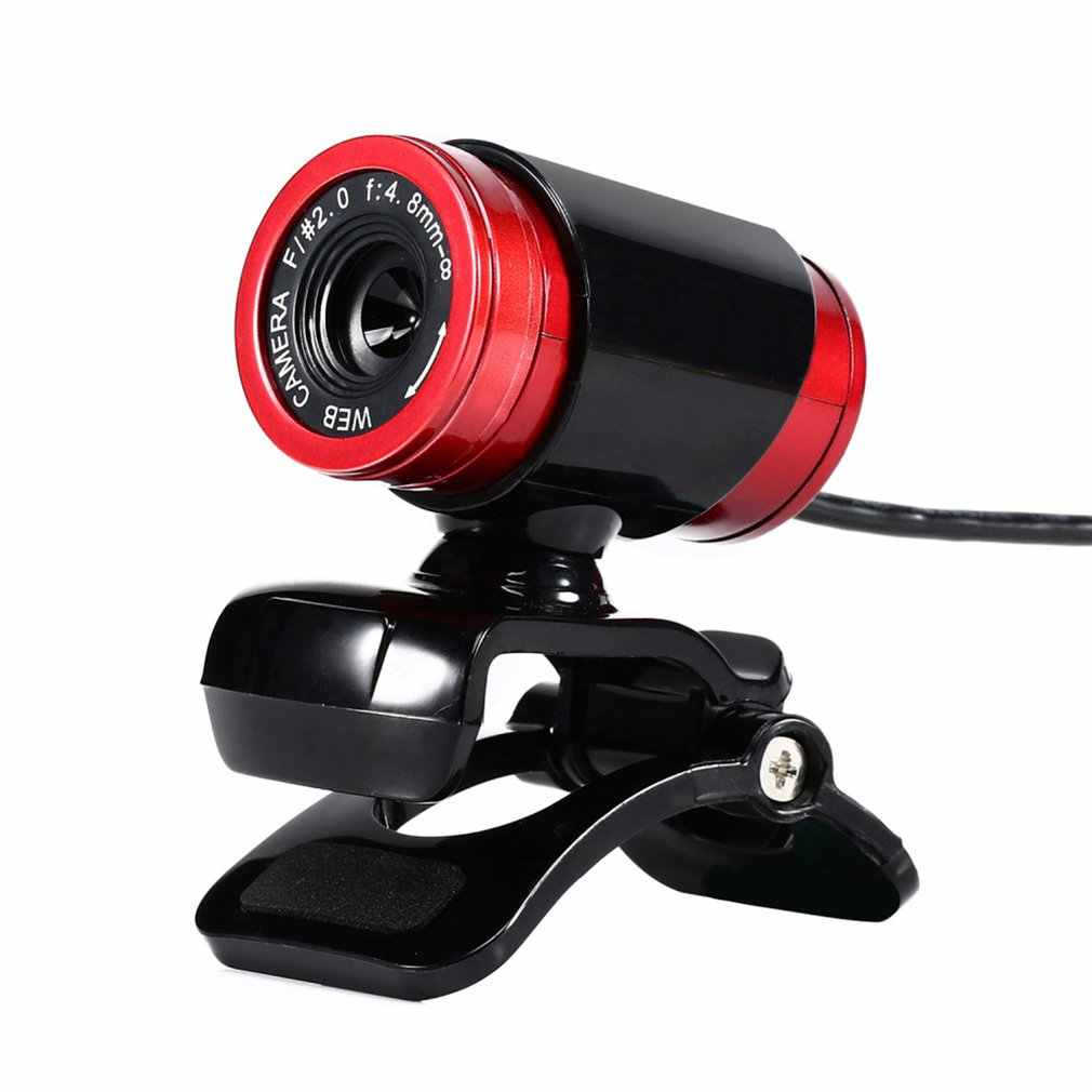 HD Webcam 12.0M Pixel CMOS USB Web Della Macchina Fotografica Digital Video Camera con Microfono Rotazione di 360 Gradi Clip-on computer Portatile Del PC Notebook