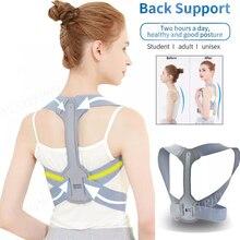 Correcteur de Posture réglable dos épaule redresser orthopédique orthèse ceinture pour clavicule dos soutien soulagement de la douleur unisexe