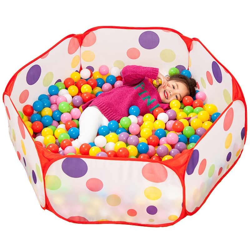 Taşınabilir topları kuru havuz çocuklar katlanabilir top çukur bebek oyun parkı çocuk top havuz çiti çocuklar güvenlik bariyeri oyun evi oyuncaklar