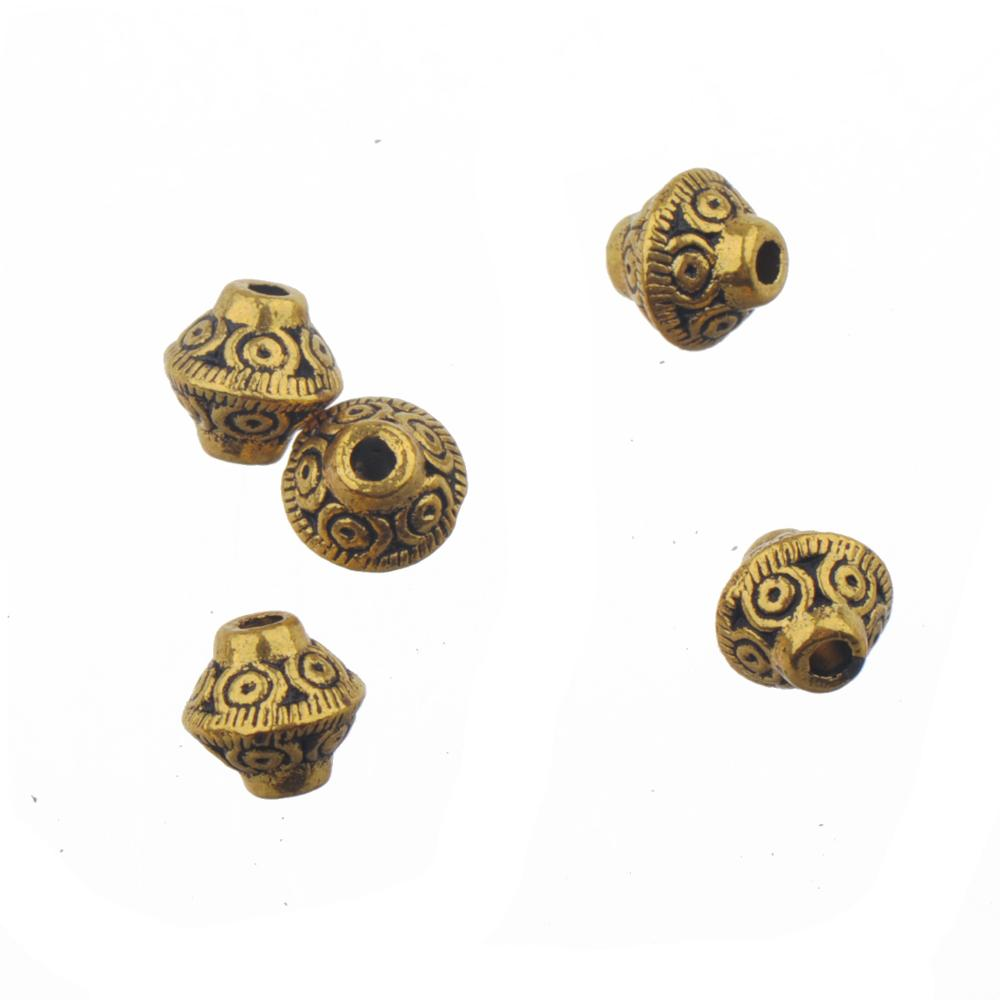 Antique Gold Beads Diy Earring