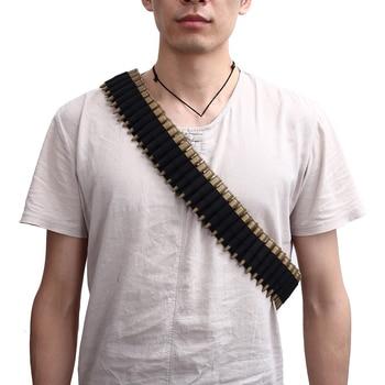 600D Tactical Belt 50 Rounds Shell Holder Portable Bullet Holster Ammo Carrier Shot Gun Shell Case Magazine Pocket for Hunting 6