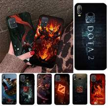 CUTEWANAN Game dota 2 logo Cover Black Soft Shell Phone Case For Samsung A10 A20 A30 A40 A50 A70 A71 A51 A6 A8 2018(China)