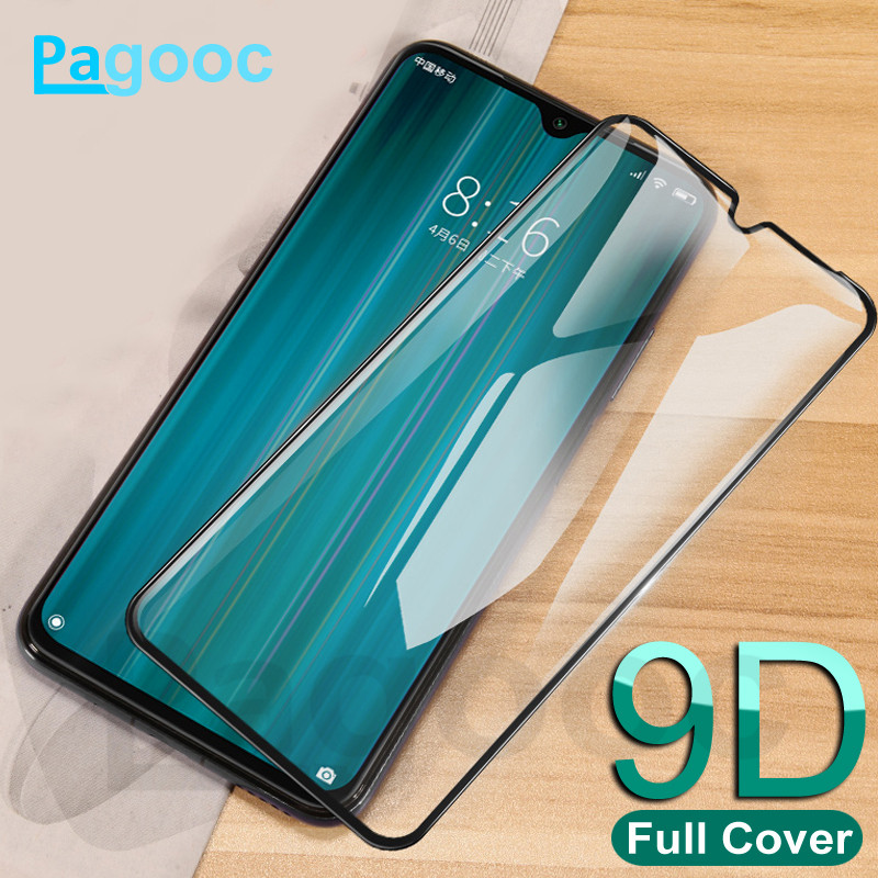 9D Full Cover Tempered Glass For Xiaomi Redmi 8 8A 7 7A S2 K20 K30 Note 7 8 Pro 8T Screen Protector Safety Protective Glass Film