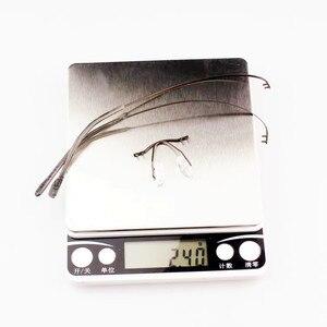 Image 5 - Очки без оправы из чистого титана, Гибкая оптическая оправа, безрамные очки по рецепту, очки 010 Line Temple