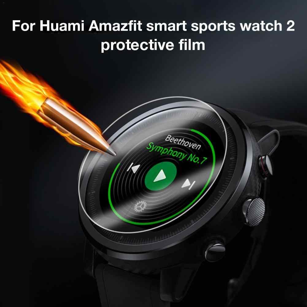3D HD שעון מגן סרטי ספורט שעון מסך מגן סרט עבור Xiao Huami AMAZFIT 2 חכם שעון סרט אביזרים