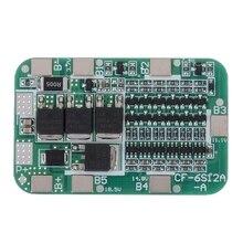 6S 22V 24V 15A 18650 Li-Ion Lithium Battery Protection Pcb Board Bms Protection Pcb Board Cell Module