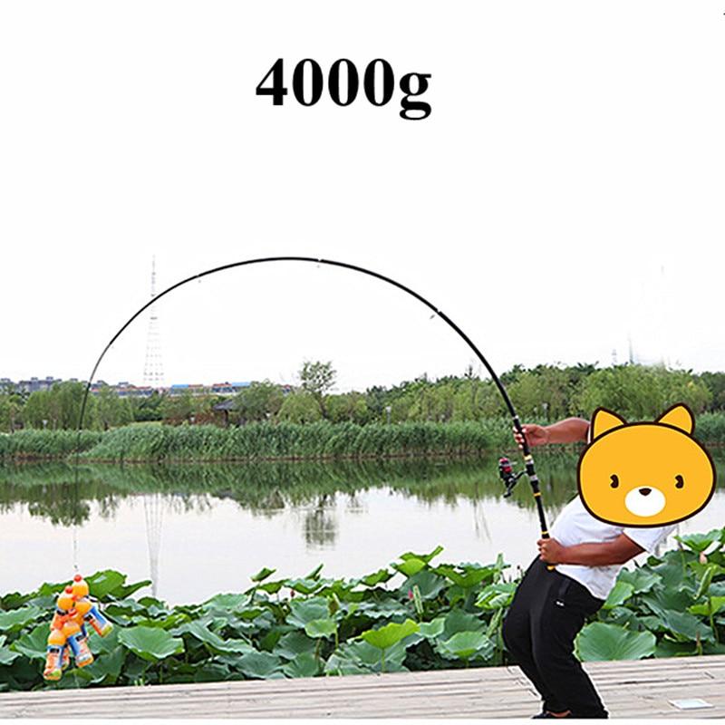 High Quality Telescopic Fishing Rod 2.1M -3.6M Fishing Pole  FRP Carbon Fiber  Carp Fishing Rod Feeder Hard