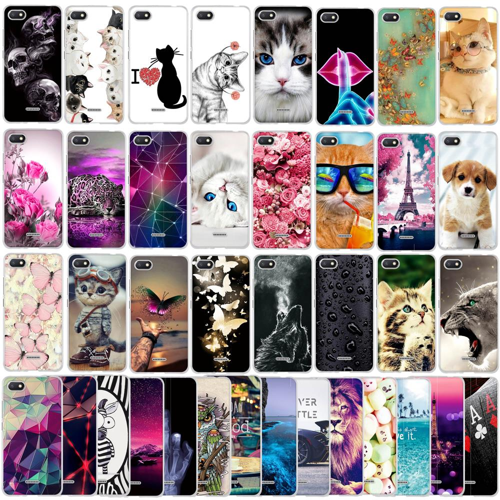 Case For <font><b>Xiaomi</b></font> <font><b>Redmi</b></font> <font><b>6A</b></font> Case Silicone Cute Funda Phone Case For <font><b>Xiaomi</b></font> <font><b>Redmi</b></font> <font><b>6A</b></font> Cover Capa Coque For <font><b>Redmi</b></font> <font><b>6A</b></font> 6 A Redmi6 A Case image