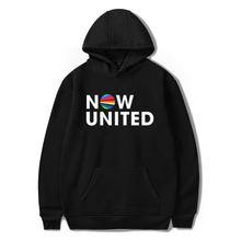 Толстовка с надписью «now united better» для мужчин и женщин