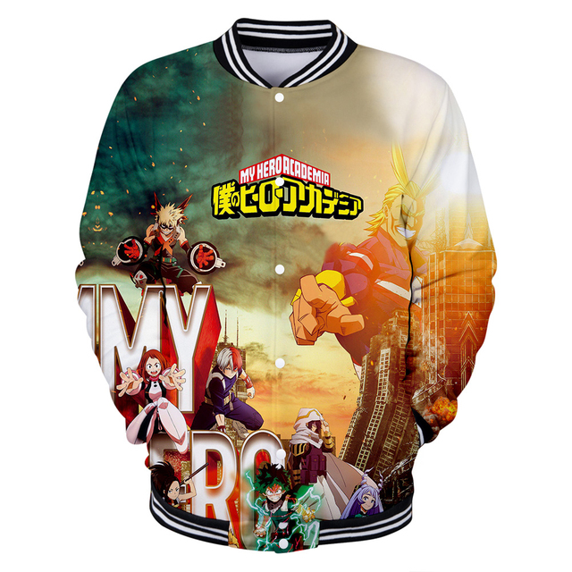 3D MY HERO ACADEMIA BASEBALL JACKET (17 VARIAN)