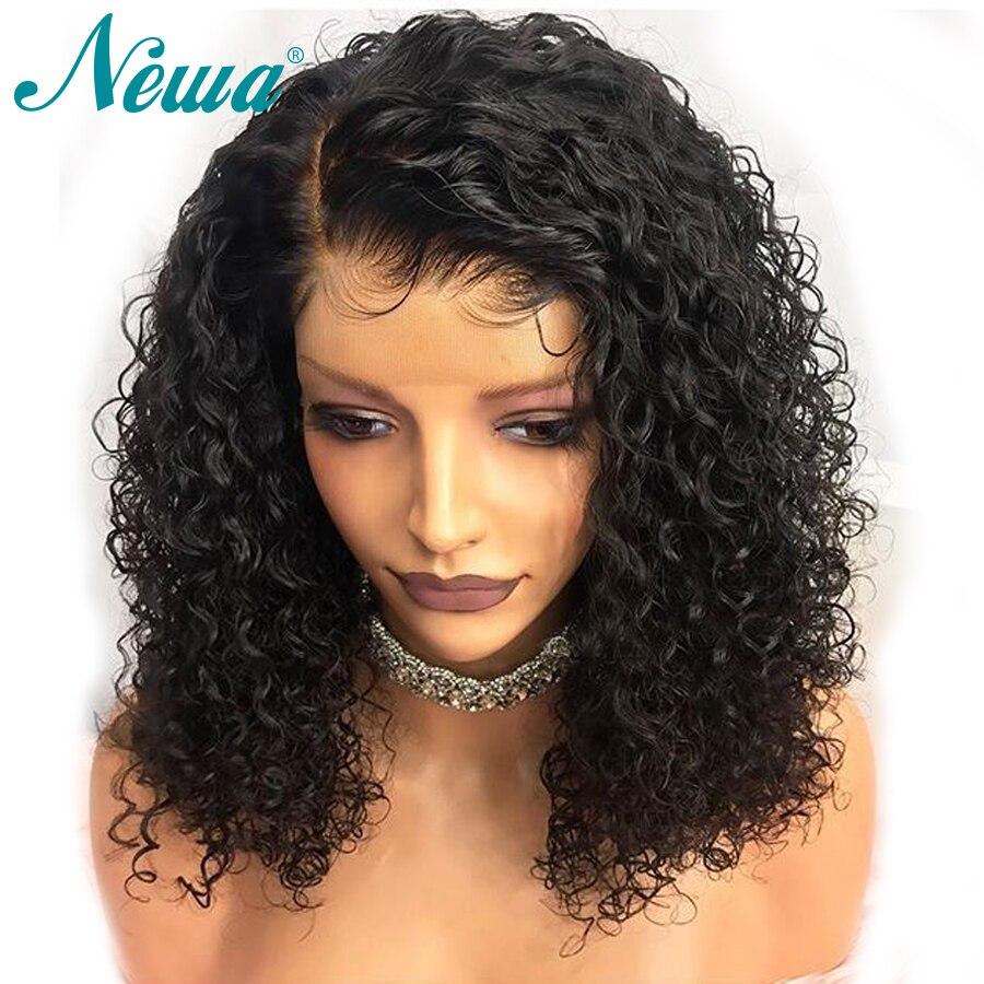 Newa Hair 360 ด้านหน้าลูกไม้วิกผม Pre Plucked กับผมเด็กบราซิลลูกไม้ด้านหน้าด้านหน้ามนุษย์ Wigs ผมผู้หญิง Remy Wigs-ใน วิกลูกไม้ผมจริง จาก การต่อผมและวิกผม บน AliExpress - 11.11_สิบเอ็ด สิบเอ็ดวันคนโสด 1