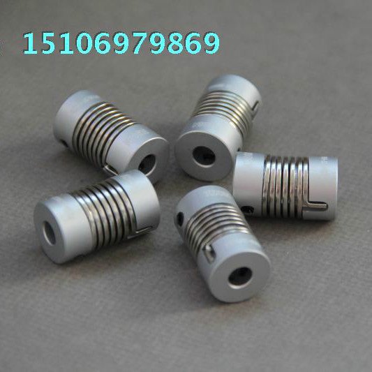 Steel Spring Coupling ST16/27 6-6 8-8 6-8 Rotary Encoder For Stepper Motor