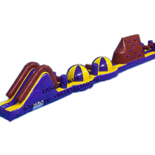 Water Park Inflatable Pool Obstacle Course Race Track Challenging