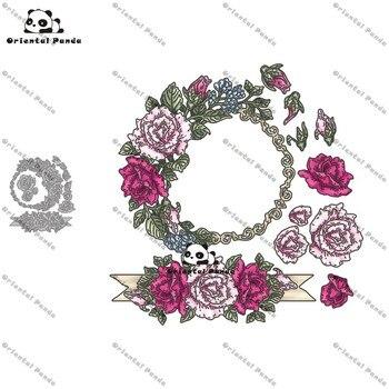 New Dies 2020 Flower photo frame Metal Cutting diy album cutting dies Scrapbooking Stencil stamps and