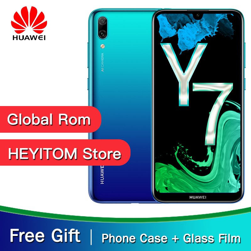 Global Versions Optional Original Huawei Y7 Pro 2019 Enjoy 9 Smartphone 6.26