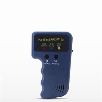 125KHz EM4100 RFID H ID kopiarka pastylek powielacz programista czytnik + T5577 EM4305 wielokrotnego zapisu ID piloty tagi karty 5200 Handheld tanie i dobre opinie Phineli Pojedyncze Zewnętrzny Karta sd