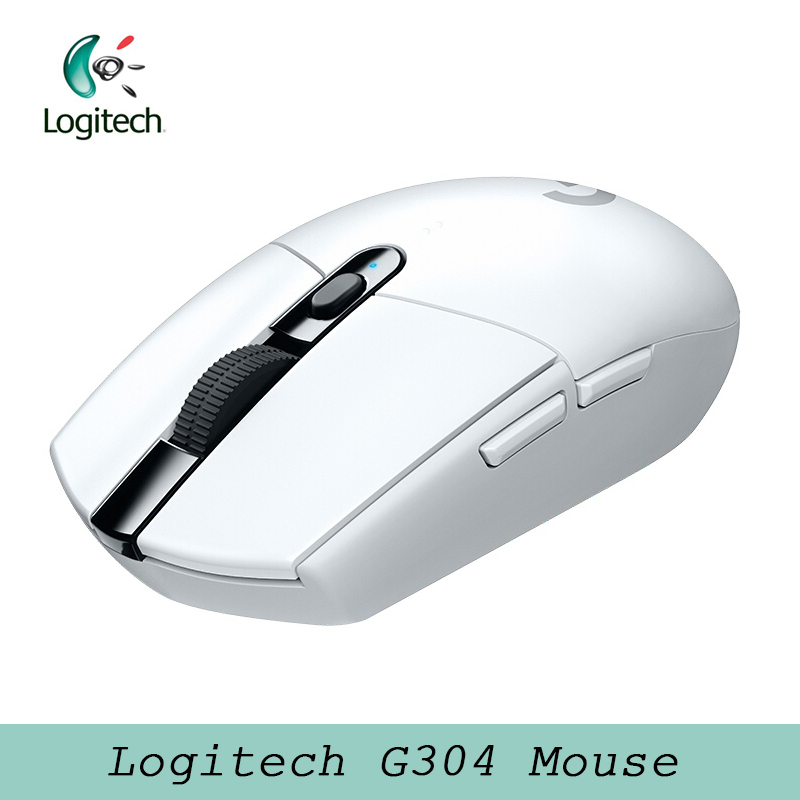 2018 Newest Logitech G304 LIGHTSPEED Wireless Mouse Gaming Mouse with HERO Sensor 12000dpi 400ips  AA Battery for Windows Mac|Mice| |  - title=