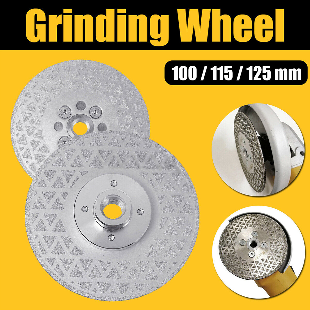 Details about  /Grinding Wheel Labor Saving Double Sided Saw Blade Vacuum Brazed Rotary Tool