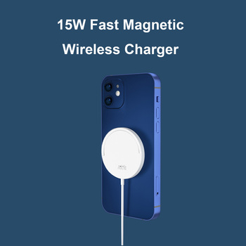 magnetic-wireless-charger-with-usb-c-integrated-cable-portable-for-mobile-phone-12-pro-max-15w-qi-magnet-fast-charging-pad