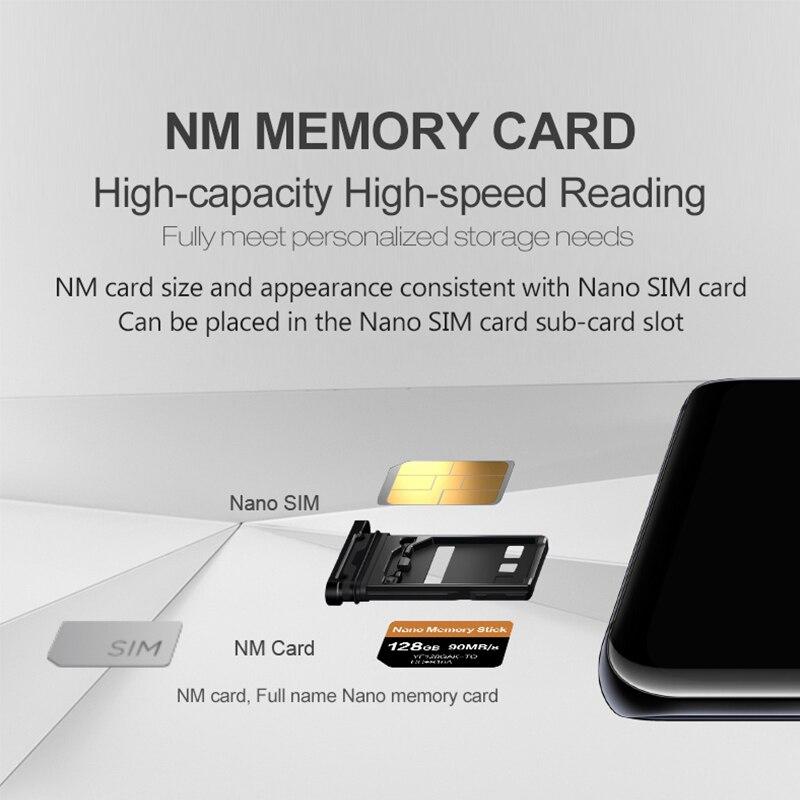 Carte NM lecture 90 mo/s 128 go carte mémoire Nano appliquer pour Mate20 Pro Mate20 X P30 Nova5 Pro avec USB3.1 Type C - 4