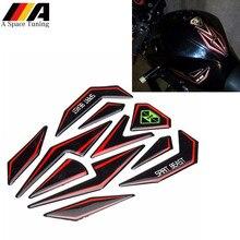 Decorazione moto 3D decalcomanie Pad serbatoio carburante adesivi coperchio tappo benzina per Suzuki Honda Yamaha KTM Kawasaki BMW