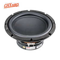 GHXAMP 8 Inch Subwoofer Speaker Woofer 4 Ohm 60W Long Stroke Subwoofer 35 Core Voice Coil For Car Theatre Audio DIY 1pc