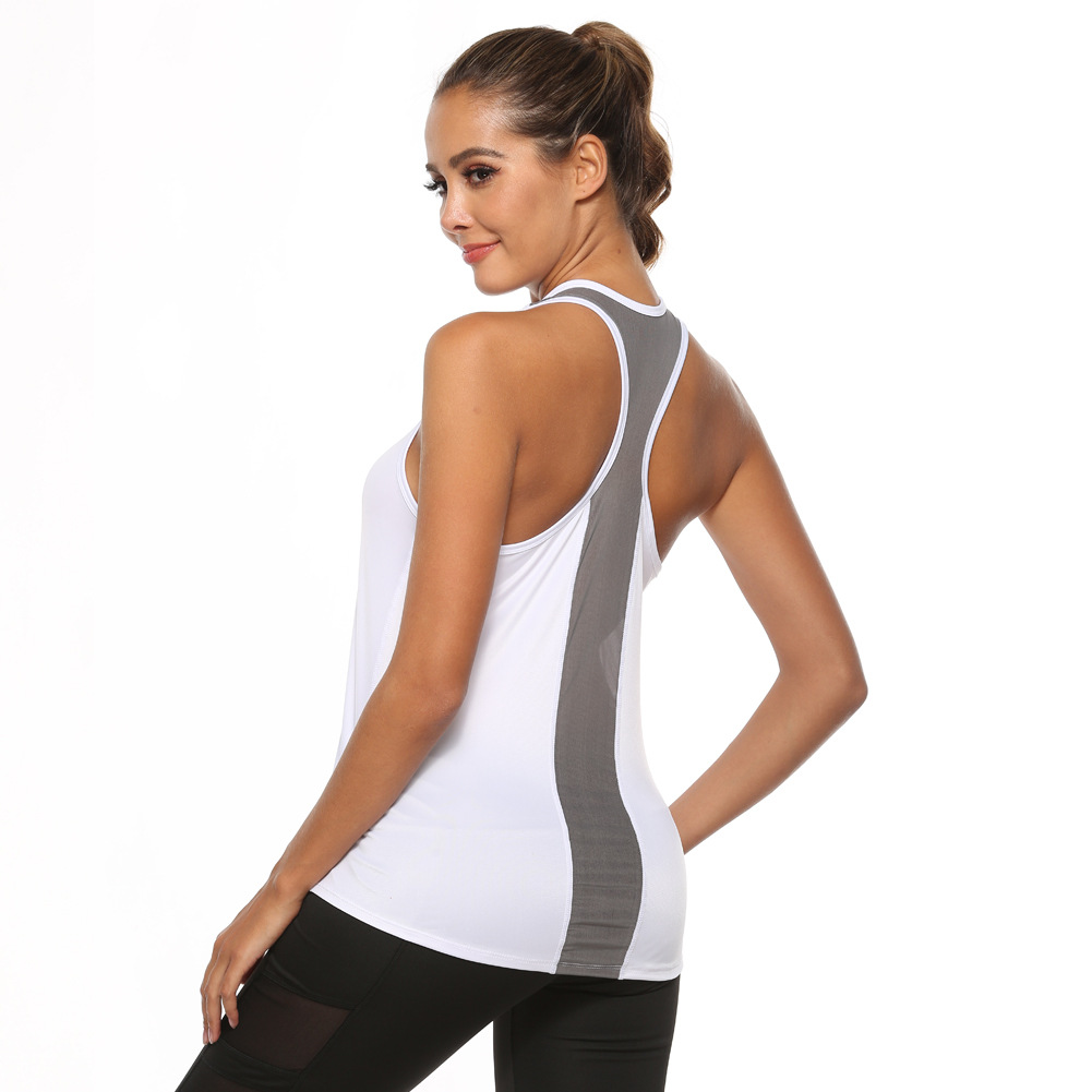 New 2020 Women Yoga Shirts Tank Top Gym Sports Running Athletic Active Stretch Workout Vest Quick Drying Clothes Workout Top