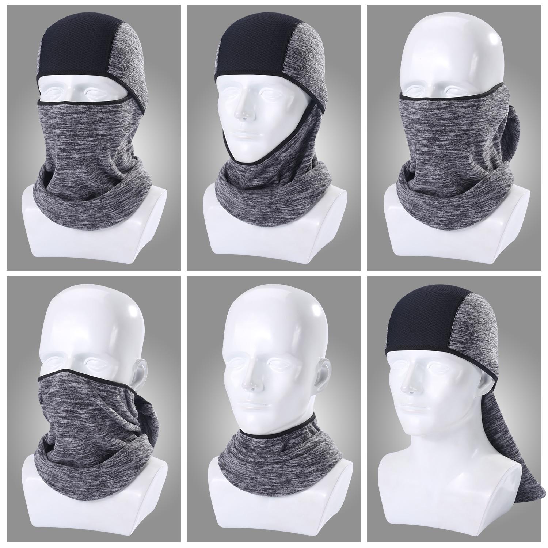 Флисовая теплая Балаклава для холодной погоды, маска для всего лица, страйкбольная маска ниндзи, головной убор, защитный чехол для лица, шап...