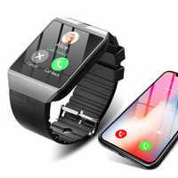 Bluetooth Smart Watch in DZ09 Supporto SIM Carta di TF Della Macchina Fotografica Orologio Da Polso Chiamata di Telefono Orologio Intelligente Per Android IOS Supporto Multi lingua