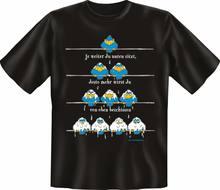 T-shirt De Haut en Haut amusant, Cadeau, impression Cornee