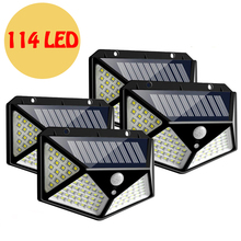 114 LED Solar Light…