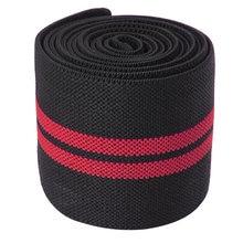 Rodilleras elásticas deportivas para gimnasio, almohadillas protectoras para levantamiento de pesas para hombre