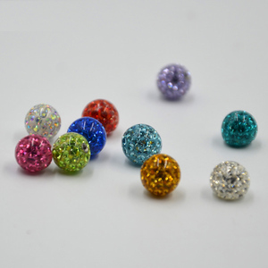Image 4 - Crystal Ferido Epoxy Balls Piercing Body Jewelry Replacement For Belly Button Navel Lip Ring Tongue Barbells Insert Steel Screw