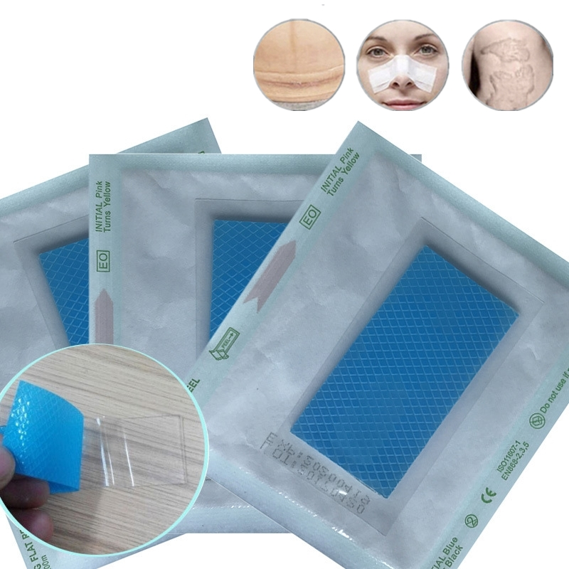 1PCs 3.5*7cm Silicone Gel Scar Sheet Removal Patch Reusable Acne Gel Scar Therapy Sheet Skin Repair Body Face Scar Repair