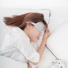 Sleep Eye Mask for Sleeping Travel Vacation Stuff Cooling Girls Eyes Rest 8H Soft Bandage on Reusable Patches
