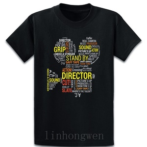 Filmmakercamera Cinematographer Director Cinematography Filmmaking T Shirt Unisex Knitted Over Size S-5XL Loose Cotton