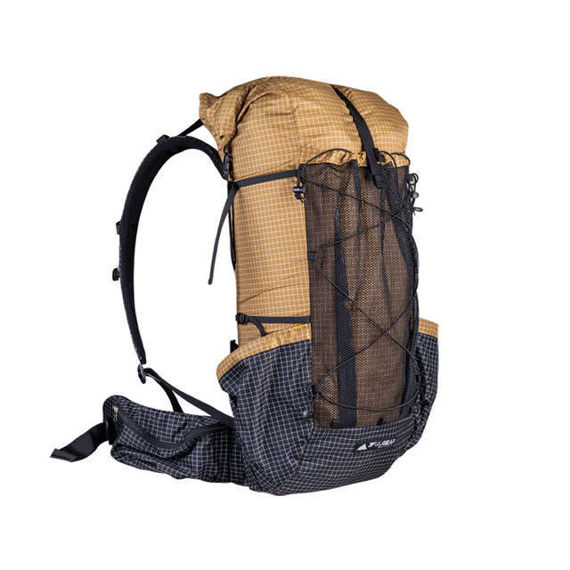 3F UL GEAR Qi Dian Backpack ultralight Camping Pack Travel Backpacking 46+10L 3