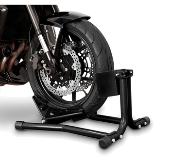 """Motorcycle front tire tire wheel block self-locking frame suitable for most 15 """"-21"""" tires Moto repair"""