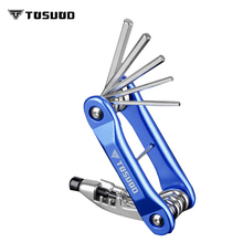 TOSUOD Mountain bike multi-function repair tools bicycle hex screwdriver socket wrench combination accessories