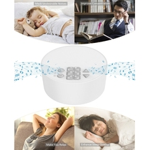 Noise-Machine White Baby Sleeping--Relaxation USB for Shutdown Timed Office Travel Adult