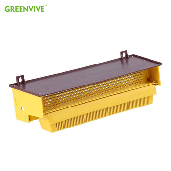 GREENVIVE Plastic Pollen Trap Bee Keeping Tools Tray Entrance Collector Beekeeper Beekeeping Supplies