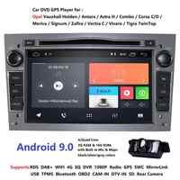 2din Android9.0 CarDVD Lettore Multimediale di Navigazione GPS per Opel Astra H Opel Combo Opel Corsa con CAN-BUS 2GRAM 4G RDS DSP DAB