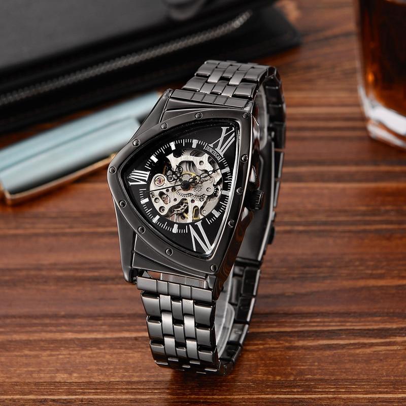 Hfe289a8dcaa045728ecc5866ed3a8d1ar Men Watch Hollow Triangular Mechanical Watches Stainless Steel Men's Wristwatches Fashion Brand Men Clock Male Dropshipping!!!